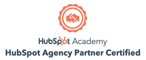 HubSpot Agency Partner Certification Badge White Background